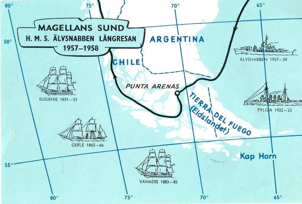 Karta Over Chile