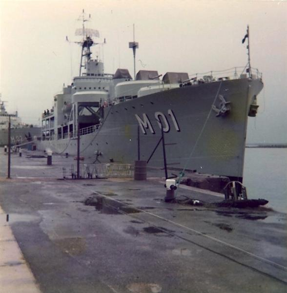 3cb5db3f402b HMS Älvsnabben - I reguljär tjänst sommar-höst 1974